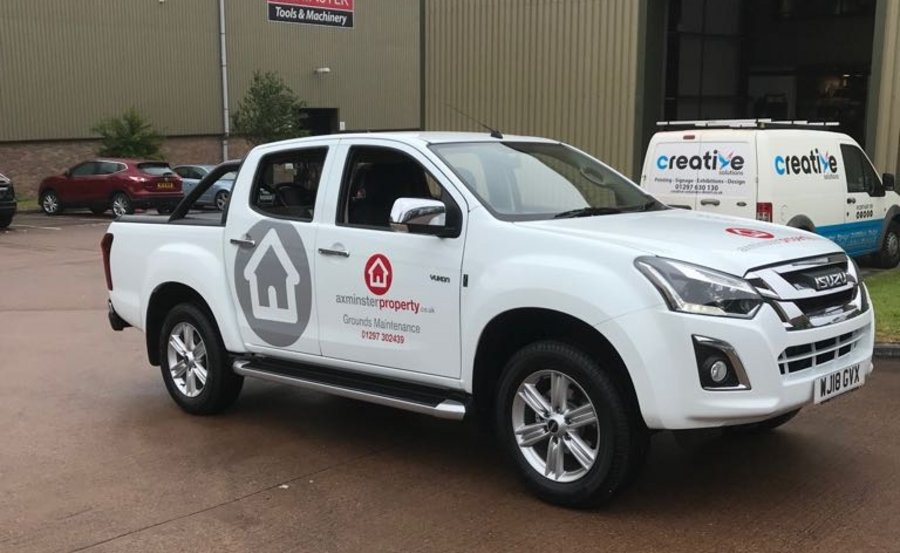 Logo on Vehicle by Creative Solutions
