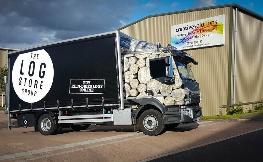 Lorry Graphics The Log Store Group