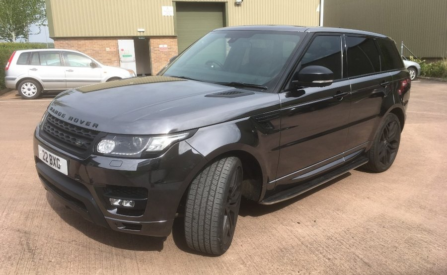 Range Rover Chrome Wrap