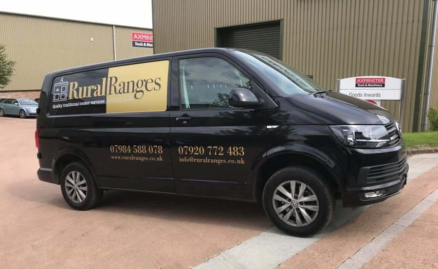 Rural Ranges van graphics by Creative Solutions