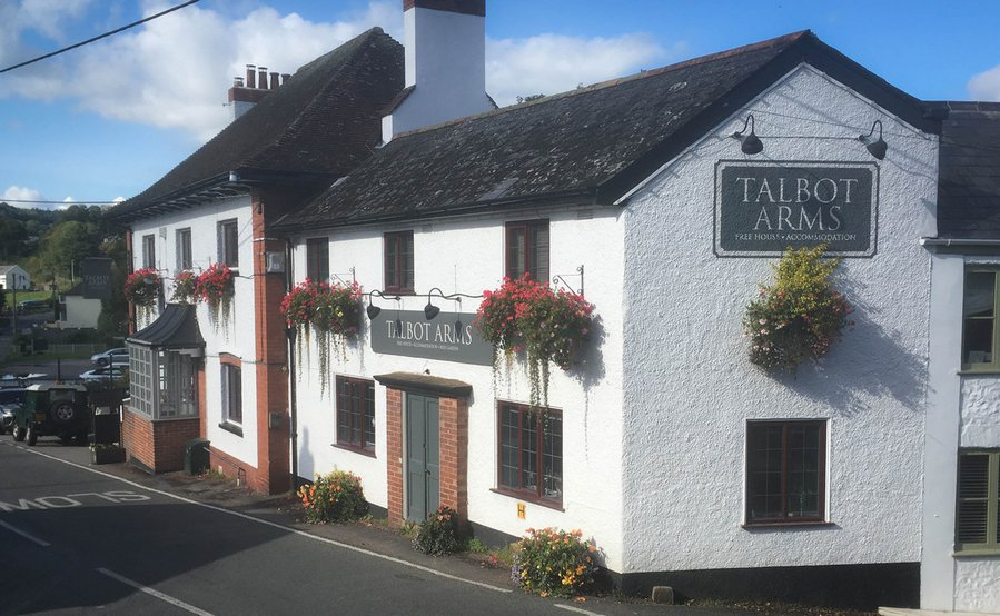 The Talbot Arms Inn Signage