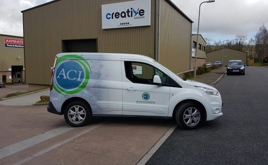 Van Wrap for Air Control Industries Axminster