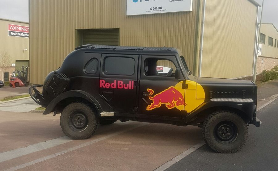 Vehicle Graphics for Red Bull