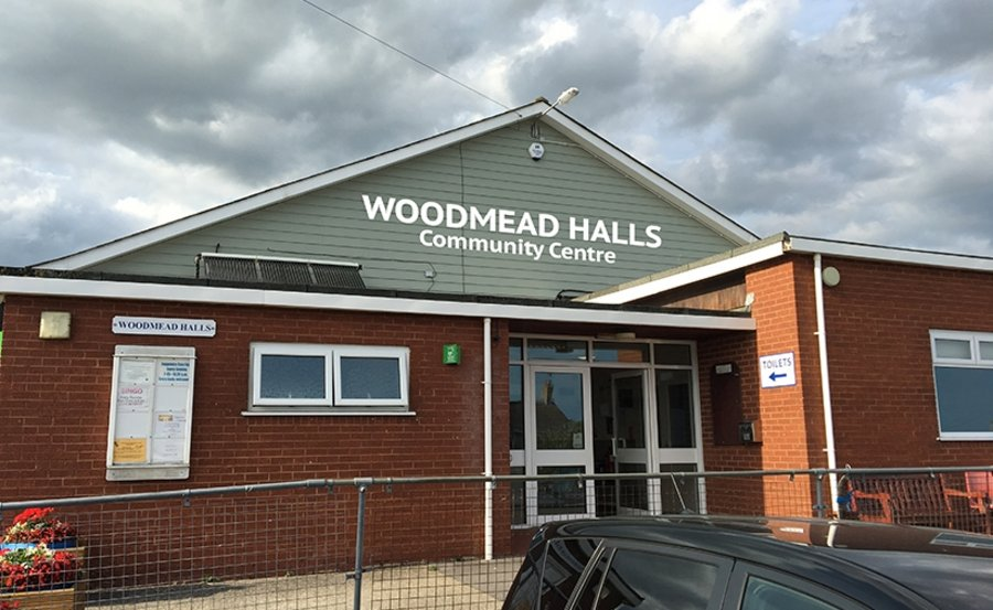 Woodmead Halls Stand Off Lettering Signage