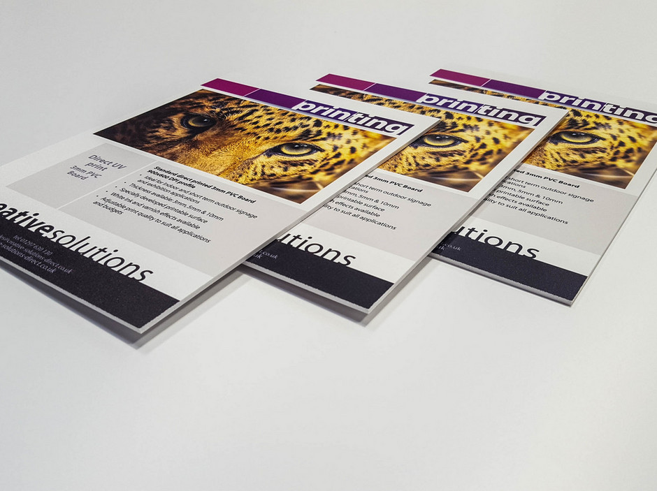 All About Large Format Print Part 3 Foamex