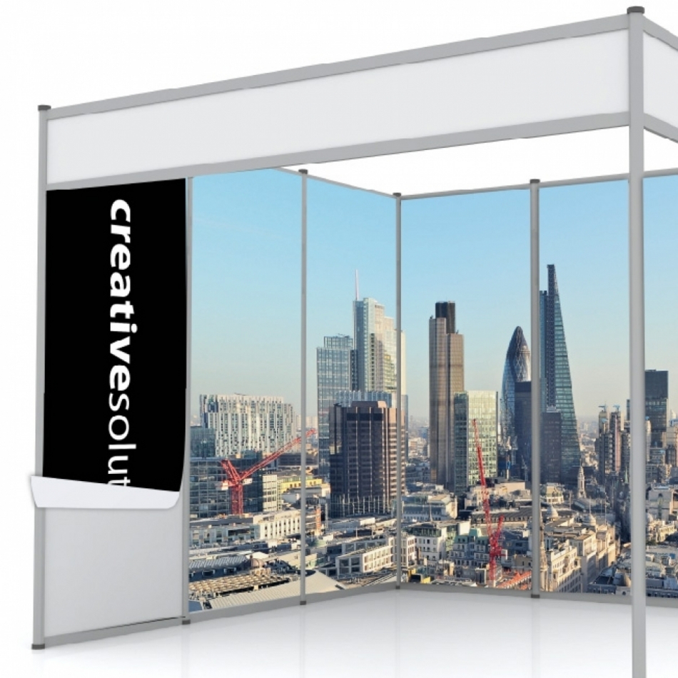 Rollable Exhibition Wall Panels