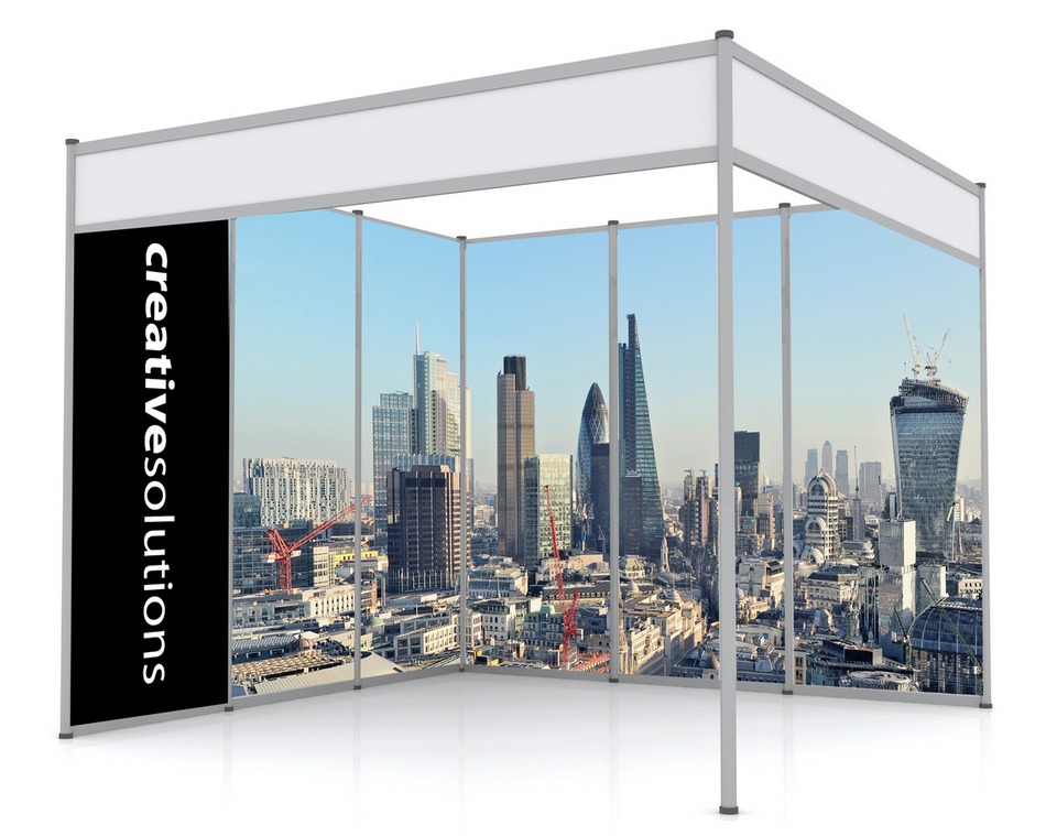 Exhibition Stand Wall Covering : Rigid exhibition graphics 5mm pvc