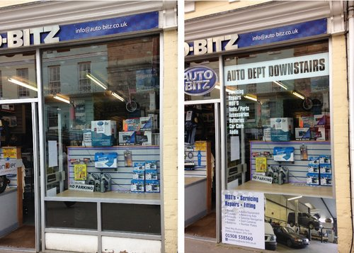 Before and After Window Graphics