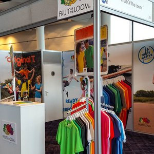 Fruit of the Loom Exhibition Stand