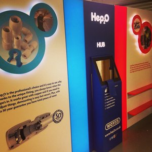 Hep2O Exhibition Stand