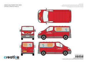 Van Signwriting Design